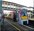 SS9079 : Train at Platform 2, Bridgend Station by Jaggery