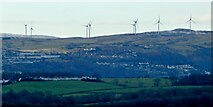 NS2972 : Inverclyde Windfarm by Lairich Rig