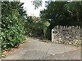 SP4416 : Entrance to Hensington House Memorial Garden by Jonathan Hutchins