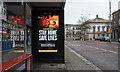 J3374 : Advert, Belfast by Rossographer