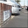 SZ0995 : Moordown: Lystra Road by Chris Downer
