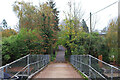 SU7778 : Footbridge at Loddon by Wayland Smith