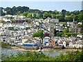 SX1251 : Fowey as seen from the east side of the River Fowey by Marika Reinholds