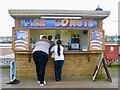 SX8960 : One of the many food shacks on Paignton pier by Marika Reinholds
