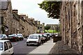 NT6420 : View along Castle Gate, Jedburgh - July 1993 by Jeff Buck