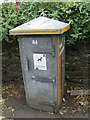 SH5872 : Electrical cabinet on Upper Garth Road, Bangor by Meirion
