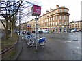 NS5765 : Nextbike Glasgow cycle hire point: Finnieston Street by Thomas Nugent