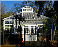 TQ3092 : Palmers Green : conservatory, Broomfield Park by Jim Osley