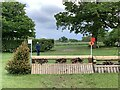 SJ8165 : Cross-country fence 6 at Somerford Park Horse Trials by Jonathan Hutchins
