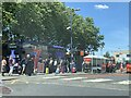 SP5006 : Bus stops and taxi ranks outside Oxford railway station by Jonathan Hutchins
