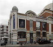TQ2778 : Michelin House seen from Lucan Place, Chelsea by habiloid