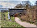 SD7506 : Manchester, Bolton and Bury Canal, Bailey Bridge by David Dixon