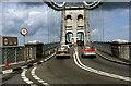 SH5571 : Menai Bridge c.1980 by Ronald Searle