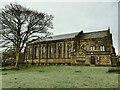 SE2040 : St John's church, Yeadon - south side by Stephen Craven