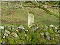 SX2671 : Old Boundary Marker on Caradon Hill by P G Moore