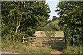 TM1441 : Entrance to Bobbits Lane Local Nature Reserve by Simon Mortimer