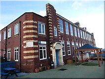 NZ3671 : Rockcliffe First School, Whitley Bay by Geoff Holland