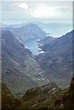 NG4820 : Loch Coruisk from Sgurr a' Mhadaidh by Jim Barton