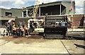TQ2677 : Lots Road Power Station - intake screens by Chris Allen