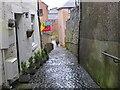 NT2540 : Alleyway off Peebles High Street by Jim Barton