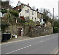 SO6015 : Houses above the B4234 in Lydbrook by Jaggery