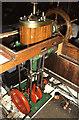 TQ1878 : Steam Launch Eva - engine, Kew Bridge Steam Museum by Chris Allen