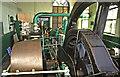 SD8332 : Oak Mount Mill, Wiseman Street - steam engine by Chris Allen