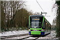 TQ3466 : Tramlink by Peter Trimming