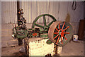 SK3057 : Cromford Wharf Museum - small Robey steam engine by Chris Allen