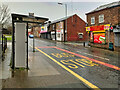 SD7807 : Bus Stop on Ainsworth Road by David Dixon