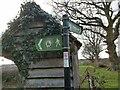 TQ5251 : Footpath Signpost by John P Reeves