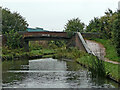 SO9388 : Peartree Roving Bridge north-west of Netherton, Dudley  by Roger  Kidd