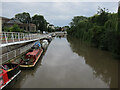 TL4659 : Boats on the Cam by Hugh Venables