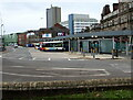 ST3188 : Market Square Bus Station, Newport by Jaggery
