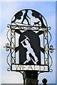 TQ5250 : Sevenoaks Weald Village Sign by John P Reeves