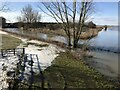 TF3902 : Morton's Leam joins the River Nene near Guyhirn by Richard Humphrey