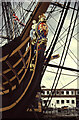SU6200 : Portsmouth Historic Dockyard - HMS Victory by Chris Allen