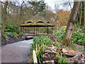SD8204 : Bandstand/Shelter in the Dell at Heaton Park by David Dixon