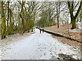 SD8203 : Path from the Showground at Heaton Park by David Dixon