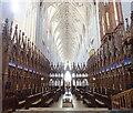 SZ1692 : The Choir Christchurch Priory by Phil Brandon Hunter