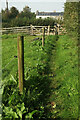 SX6961 : Footpath to Lutton by Derek Harper