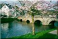 SO3080 : The bridge at Clun by Humphrey Bolton
