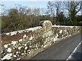 NY3649 : Inscription stone, Union Bridge by Adrian Taylor