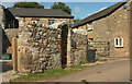SX8463 : Converted farm buildings, Higher Weekaborough by Derek Harper