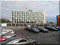 TQ1982 : Park Plaza Hotel and Tesla car dealer by David Hawgood