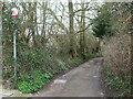 ST6572 : The lane after Hollyguest Road by Neil Owen
