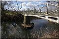 SP4876 : Footbridge over the River Avon by Stephen McKay