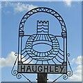 TM0262 : Haughley village sign by Adrian S Pye