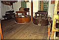 SE3403 : Worsbrough Mill - stone floor by Chris Allen