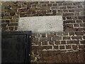 TQ2375 : Notice in Putney Burial Ground by Marathon